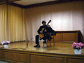 Performance of the solo guitar works of Sergio Assad at Municipal Music Hall of Katerini, Greece (May 2007).